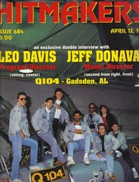 Q104 on cover of HITMAKERS