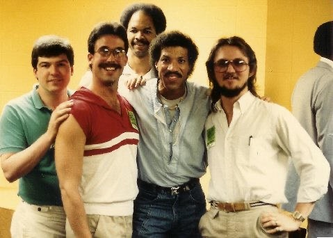 Q Crew with Lionel Richie