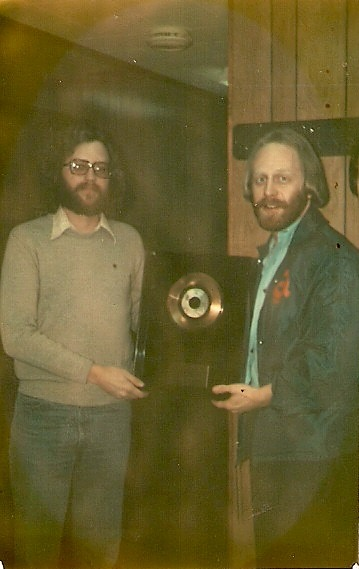 Warner Brothers presents Gold Record to Bill Barron.jpg